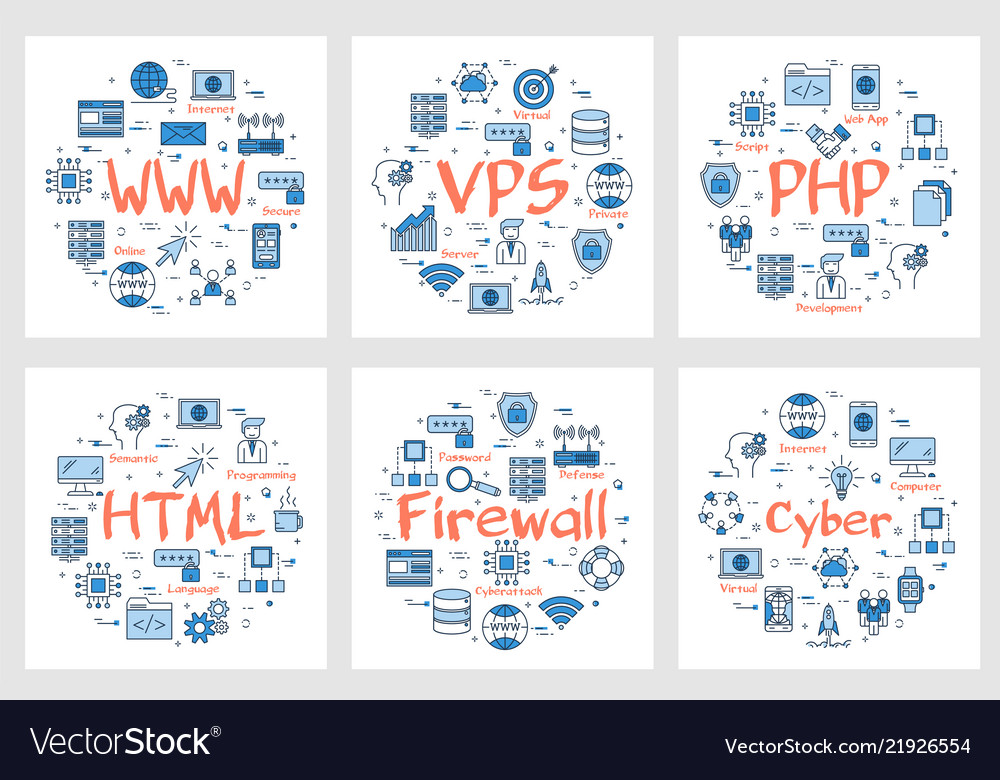 Six business banners - www php html firewall