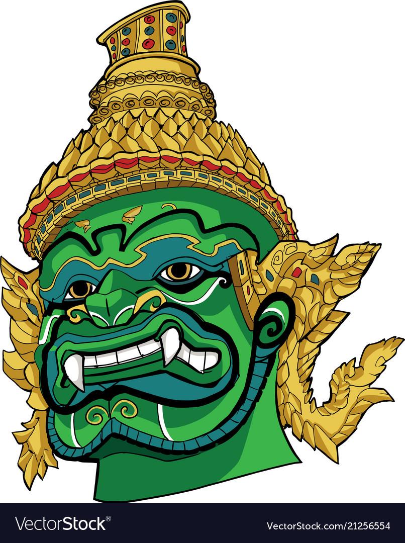 Thai demon green