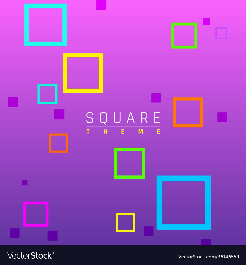 Business brochure design contemporary geometric