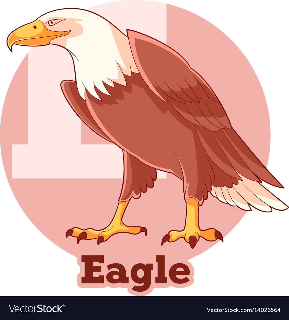 Abc cartoon eagle
