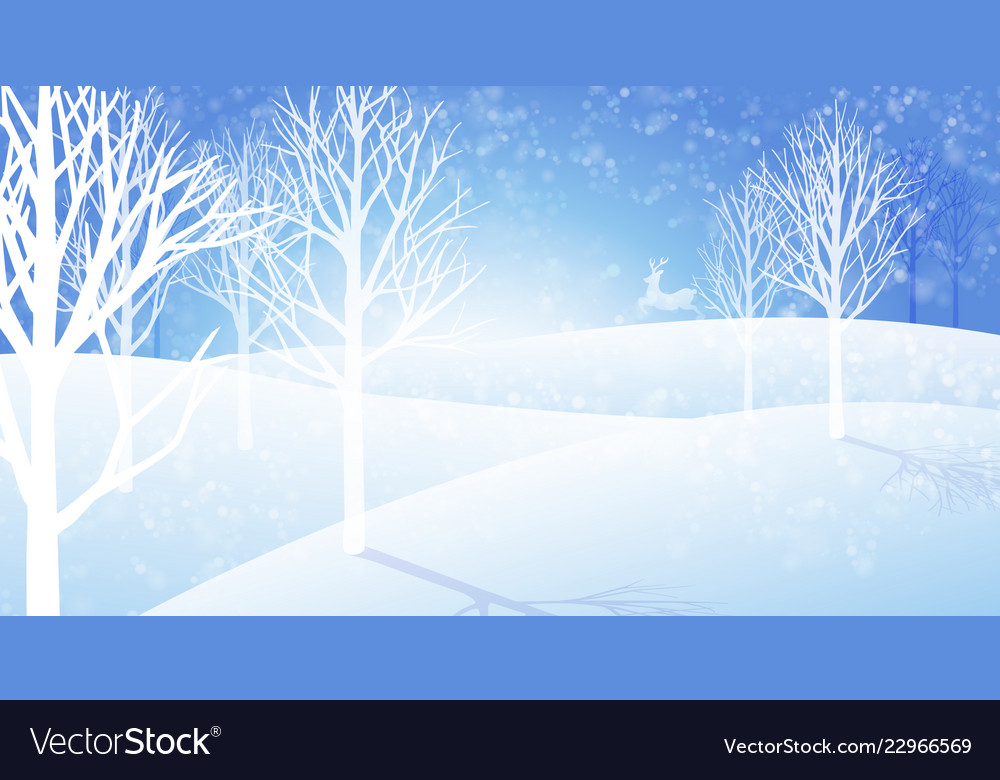Winter background a