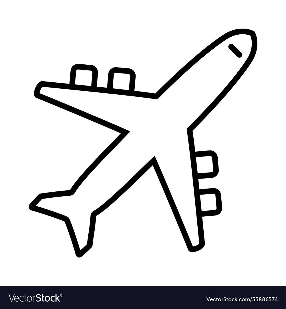 Icon airplane plane icon