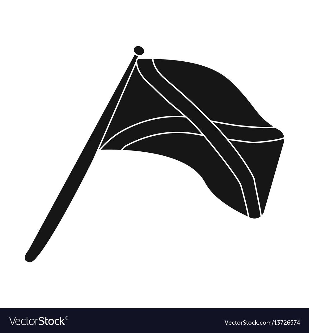 Scotland flag on a wooden stickthe scottish