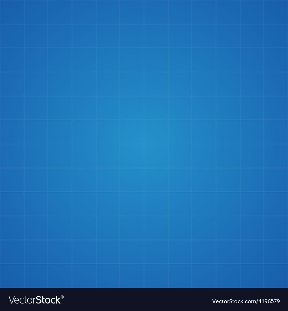 Blueprint grid background graphing paper for vector image malvernweather Images