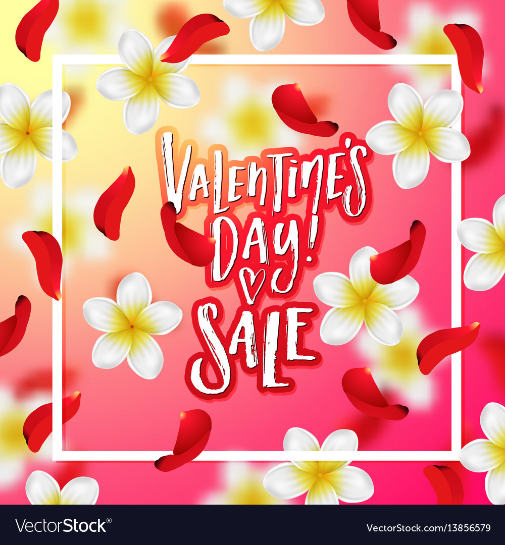 Hand drawn calligraphy valentines day sale