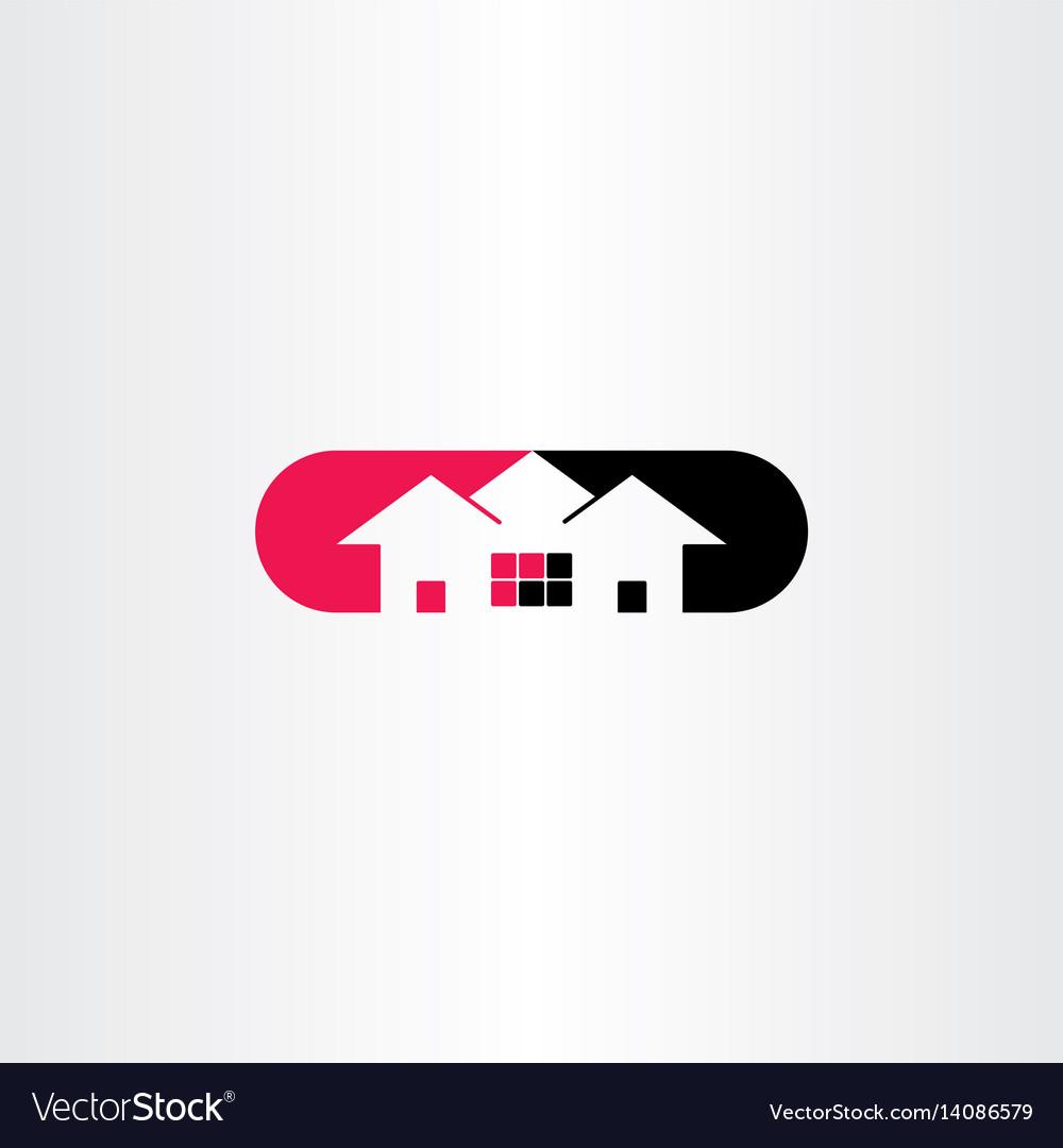 House logo symbol icon clip art