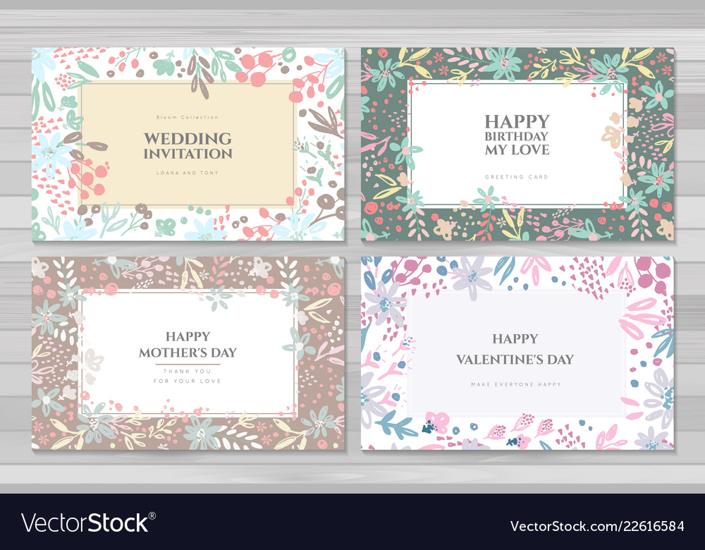 Background cards templates