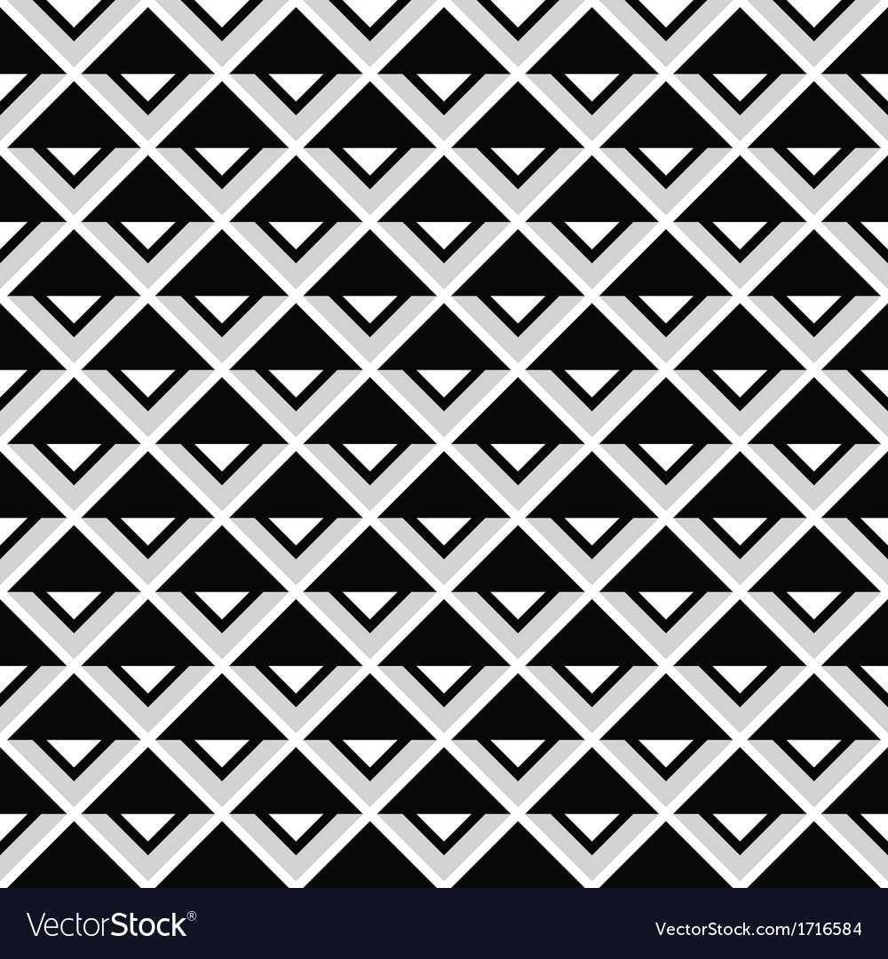 Tribal aztec abstract squares seamless pattern