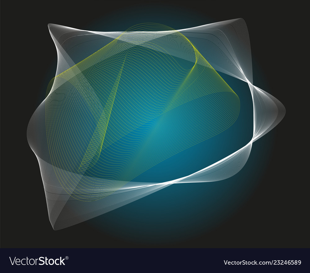 Abstract background with curves lines