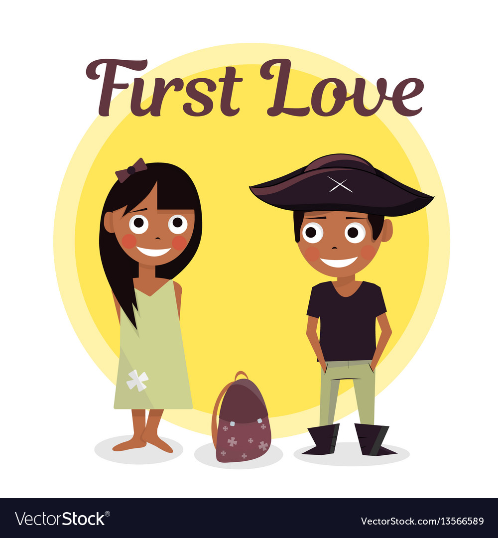 First love at school the boy wants to help carry