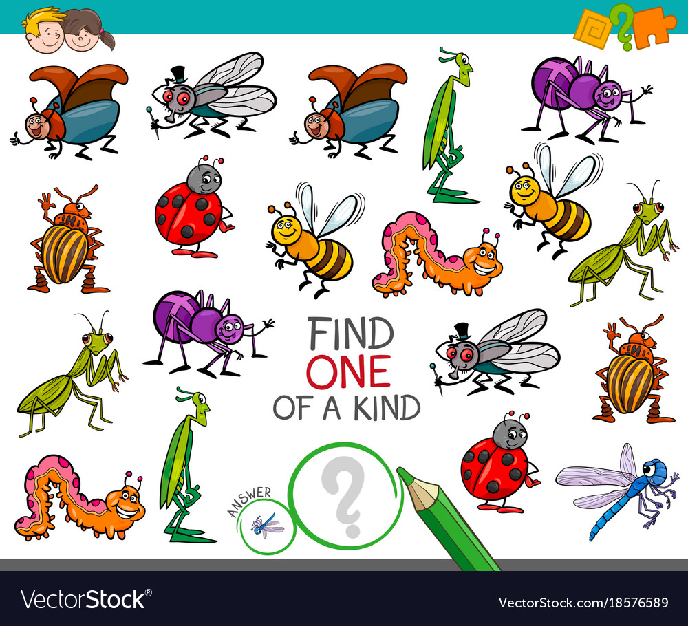 One of a kind game with insect characters