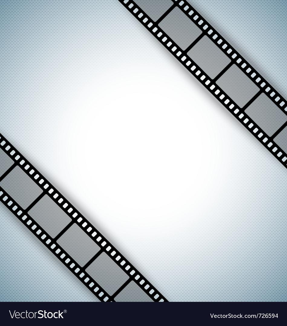 Film strip document template