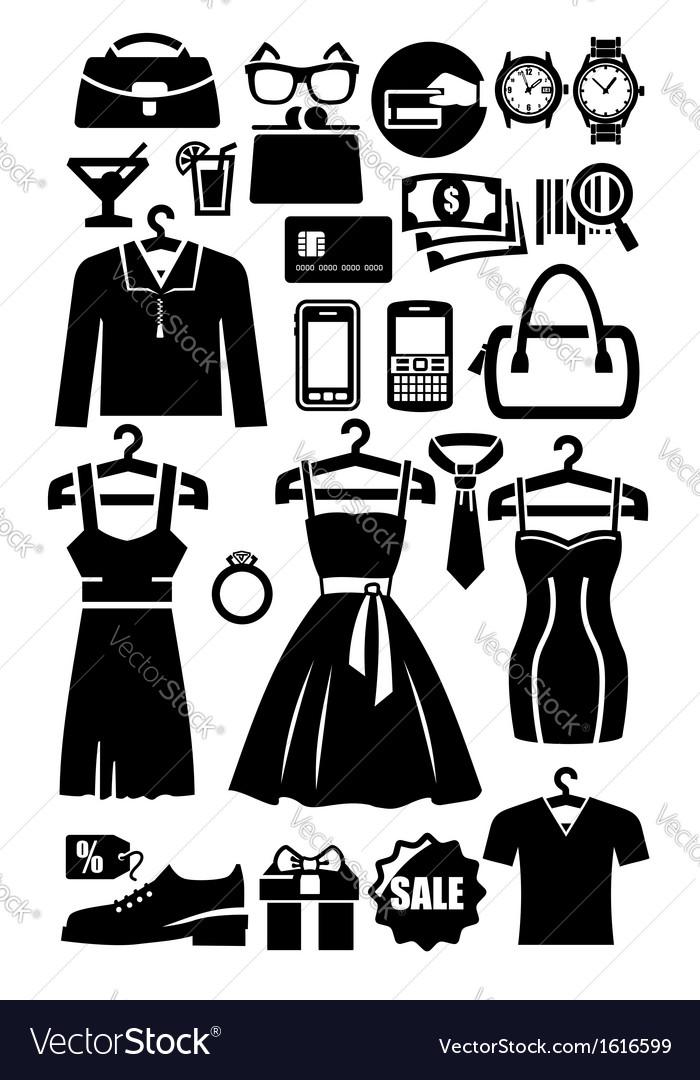 Clothing shop icon