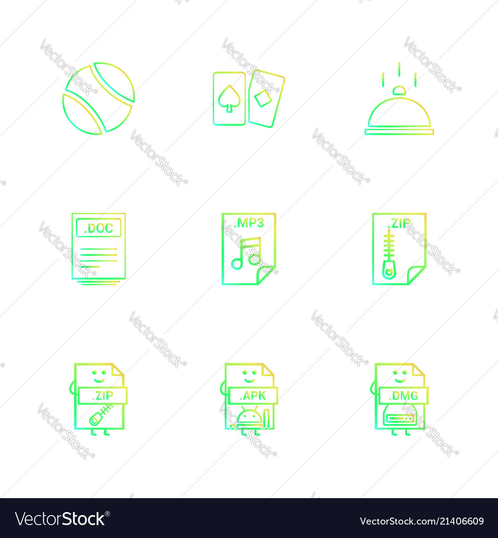 Ball card dish doc word file zip compressed vector image ccuart Gallery