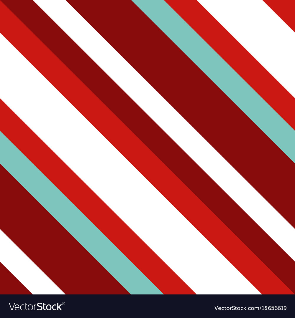 Christmas diagonal striped seamless pattern