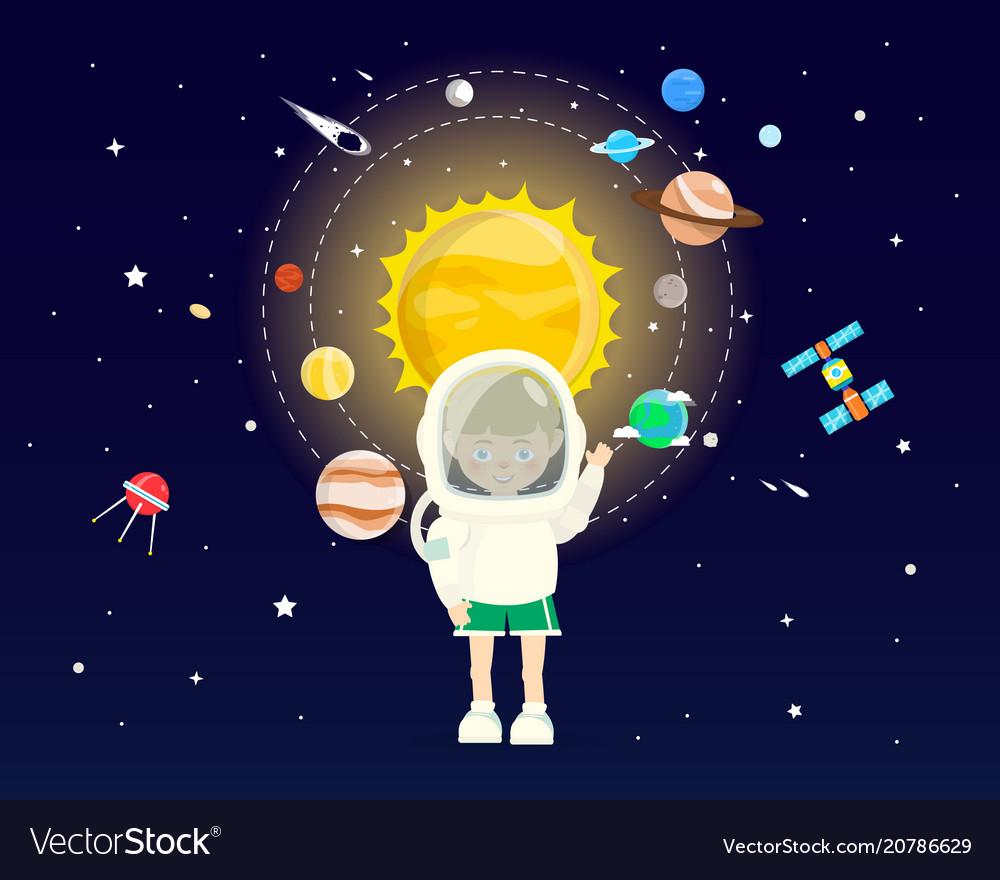 Boy wear space sets in cosmic concepts