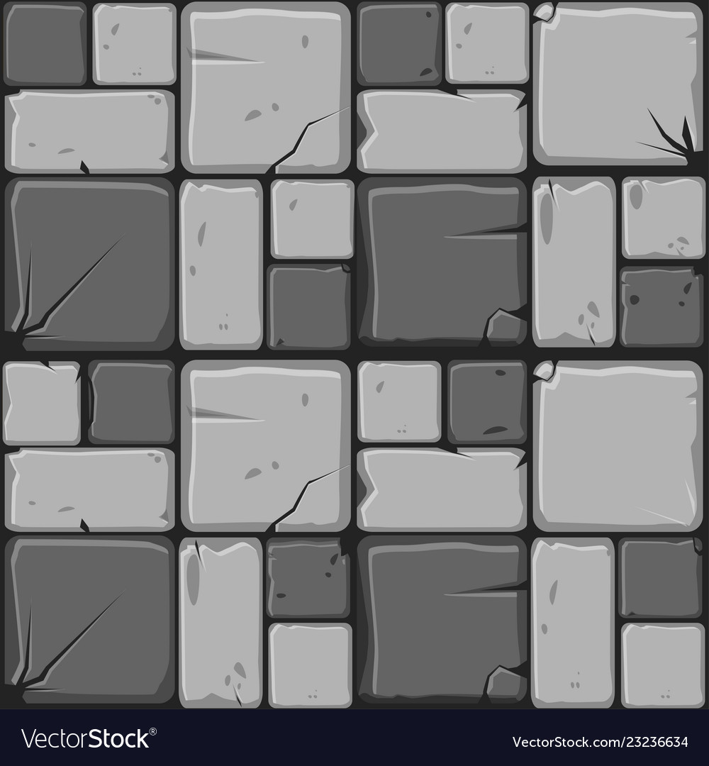 Texture of gray stone tiles seamless background