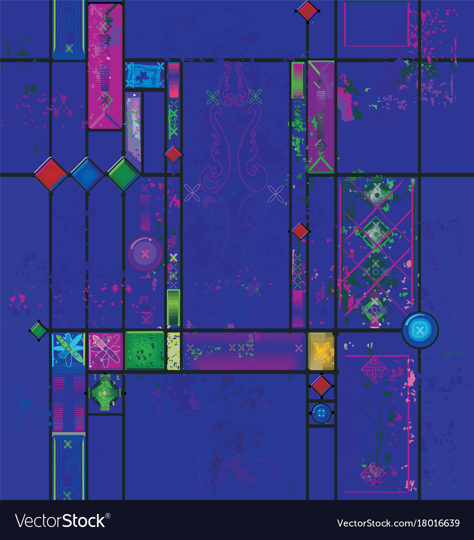 Art color stained glass