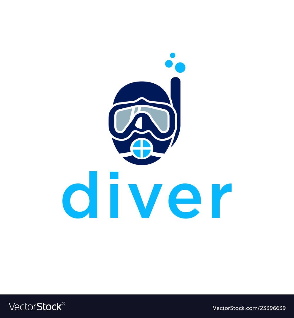 Diver logo design inspiration