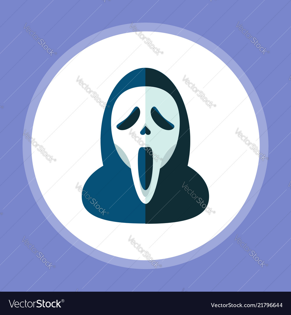 Halloween mask icon sign symbol