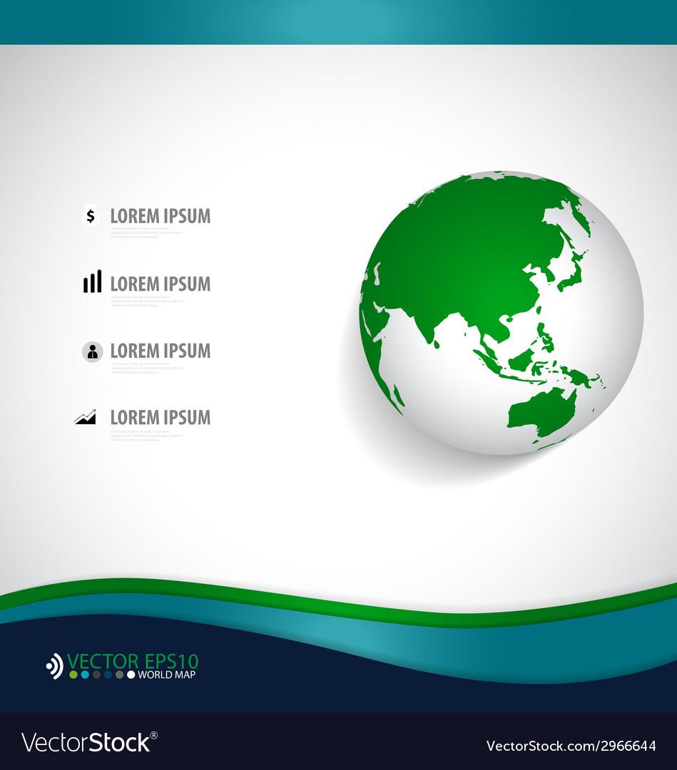 Modern globe design