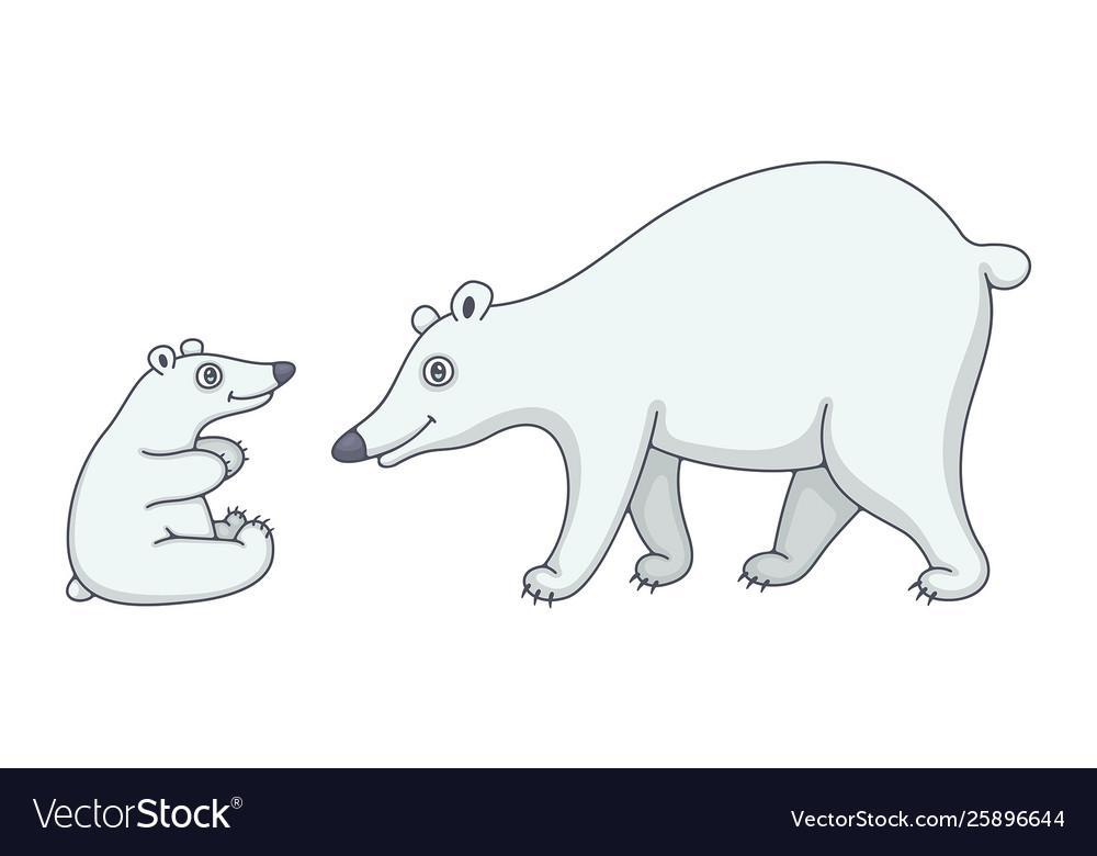 Set polar bears
