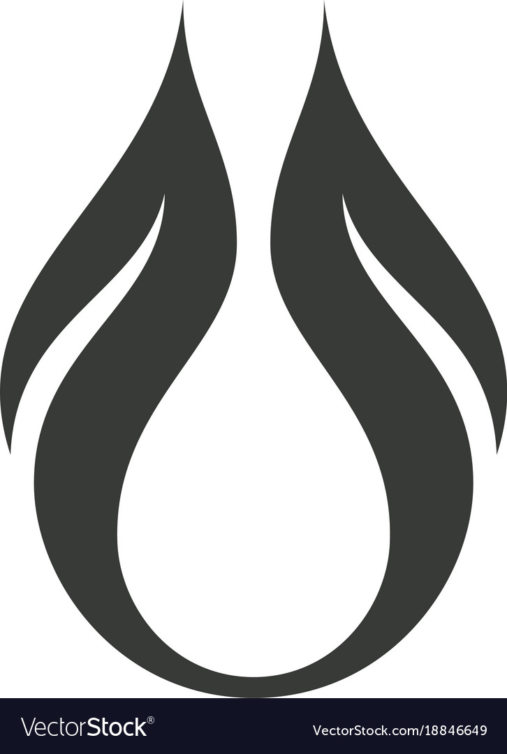 Abstract art logo vector image