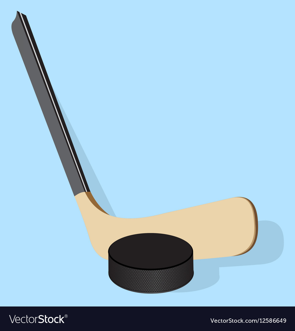 Realistic Hockey stick and