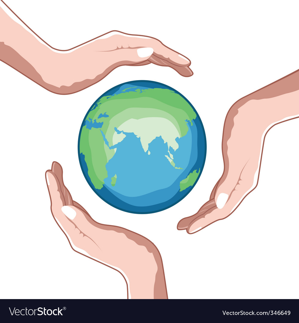 save the earth images  Save earth Royalty Free Vector Image - VectorStock