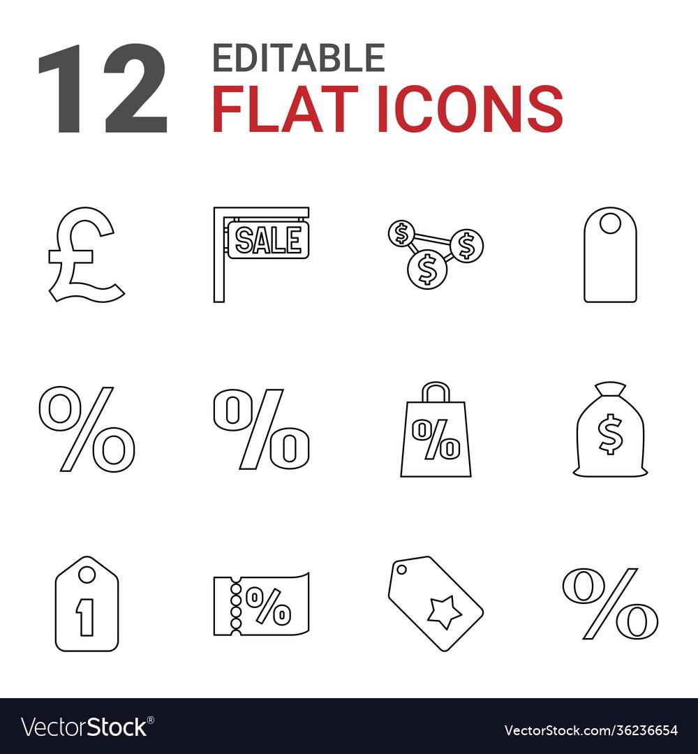 12 price icons