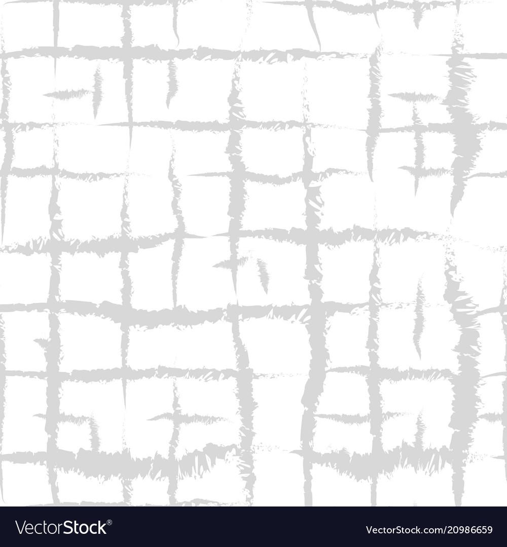Hand drawn seamless plaid pattern allover pattern