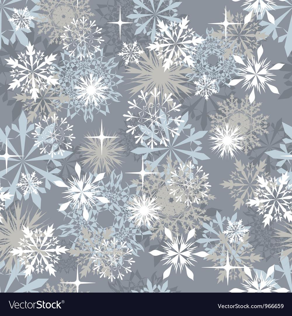 Snowflakes seam
