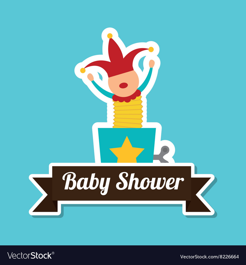 Baby shower with toy design