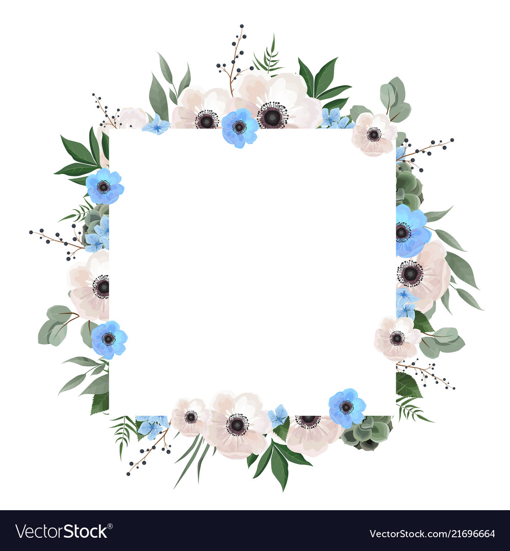 Floral wreath with green eucalyptus leaves flower