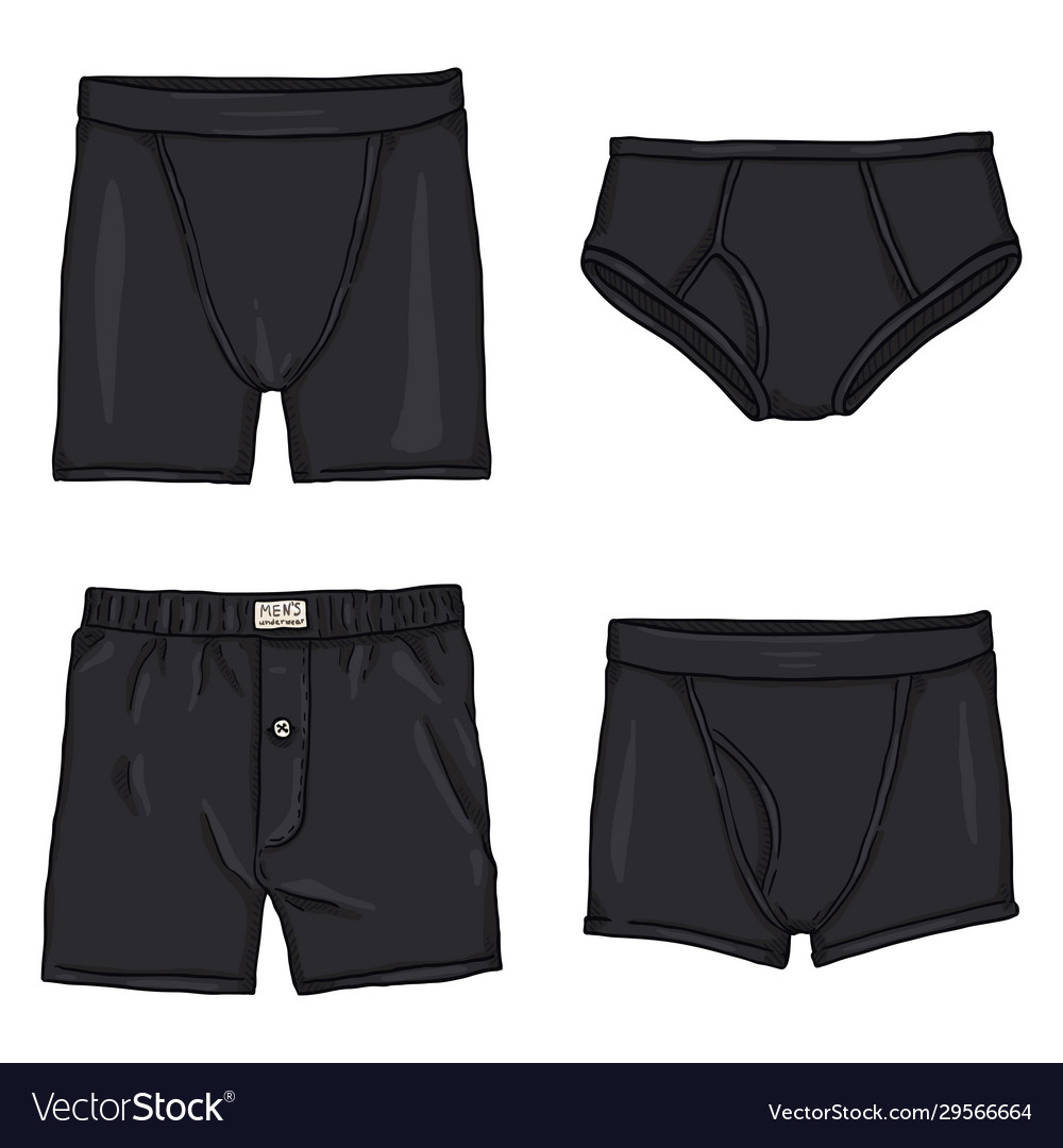 black shorts cartoon
