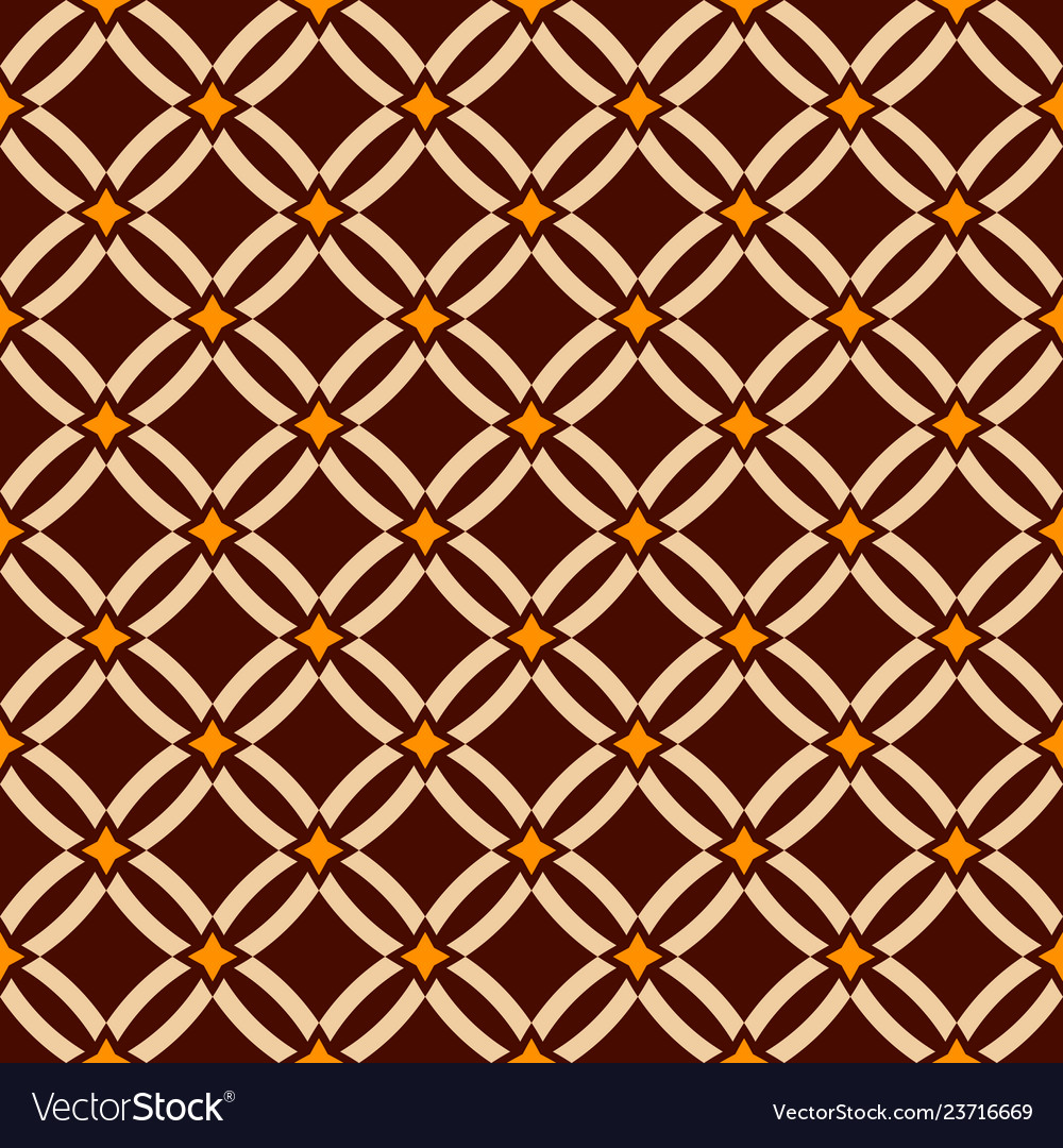 Abstract seamless pattern geometric lattice