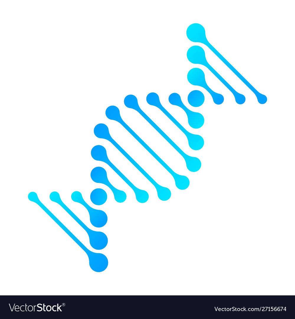 Dna icon rna gene fun funny chromosome line