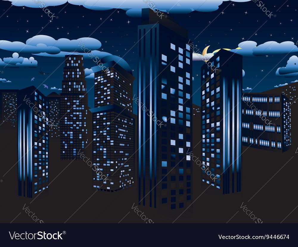 Night Cityscape Background2