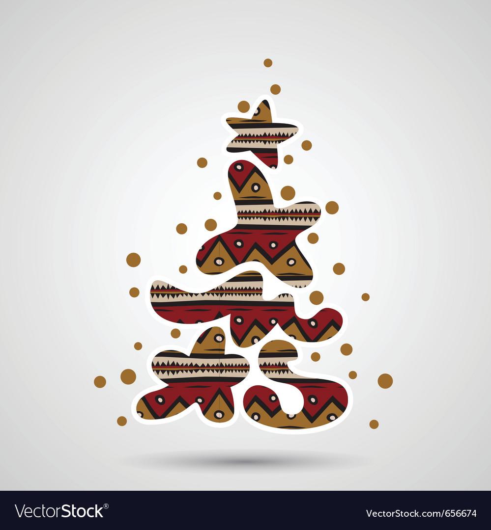 Christmas Graffiti Letters.Xmas Tree Graffiti Text