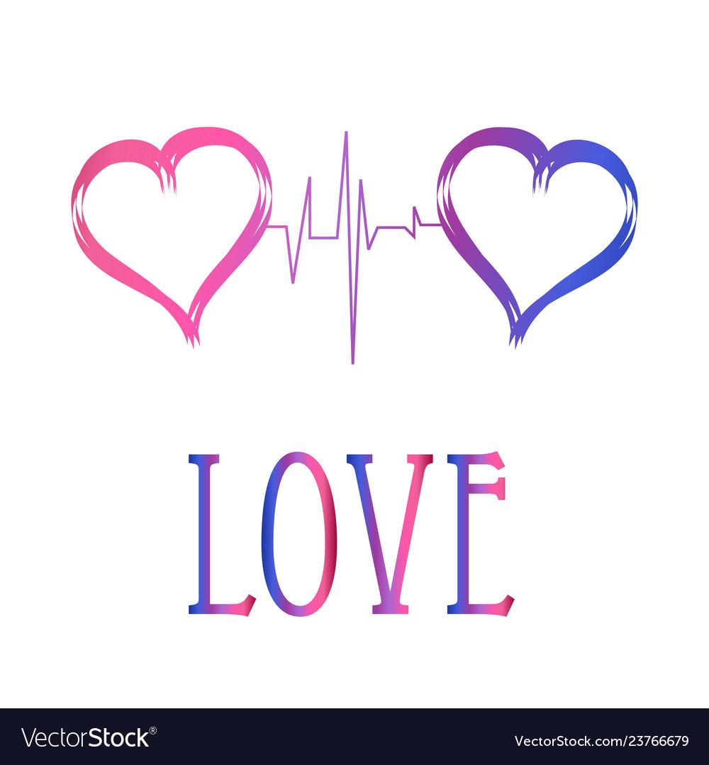 Decorative Hearts Love Symbols