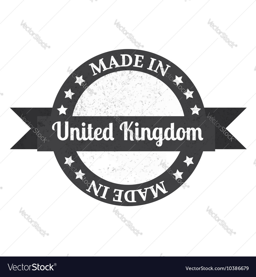 Made in UK badge Made in United Kingdom badge