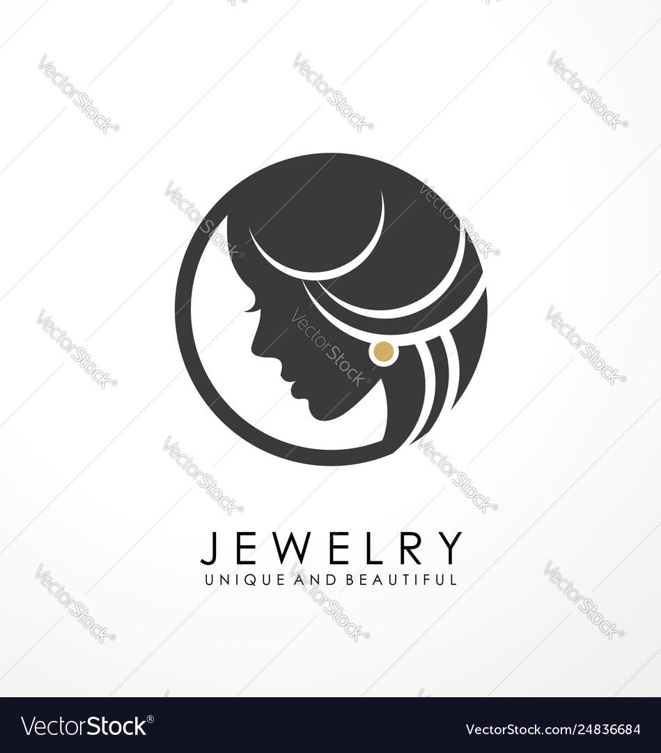 Jewelry logo symbol design