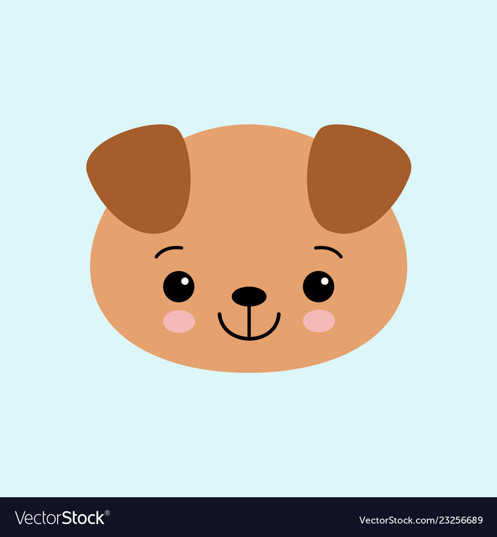 Cartoon Cute Puppy Drawing For Kids Royalty Free Vector