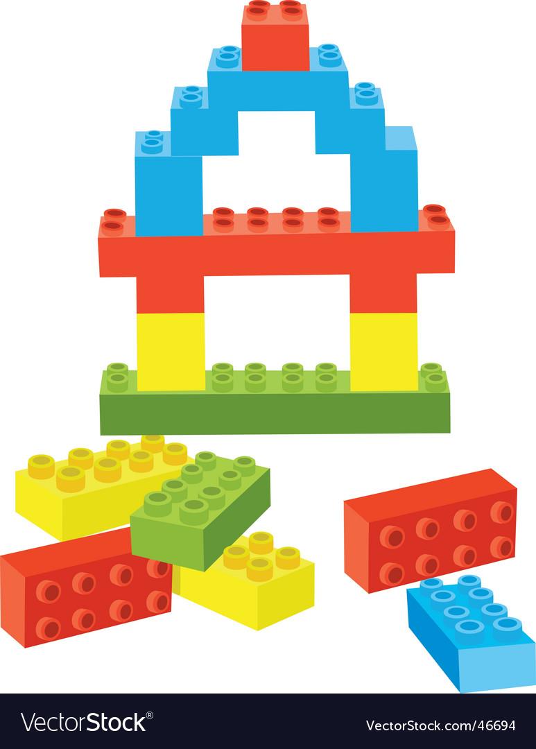 Toy bricks