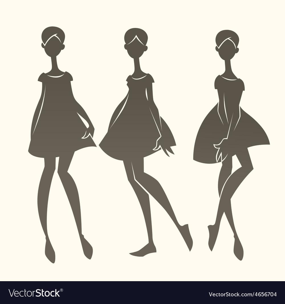 fashion silhouette description - HD1000×1065