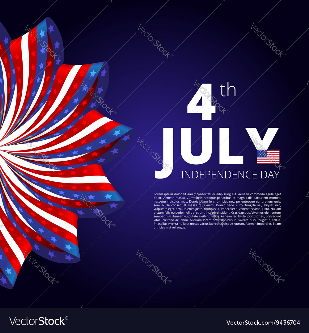 Independence day of 4th july
