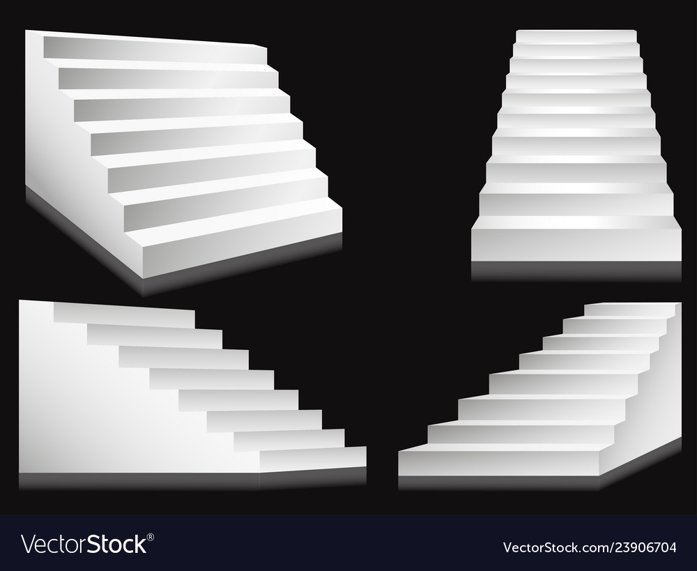 Stairs or staircases and podium ladders