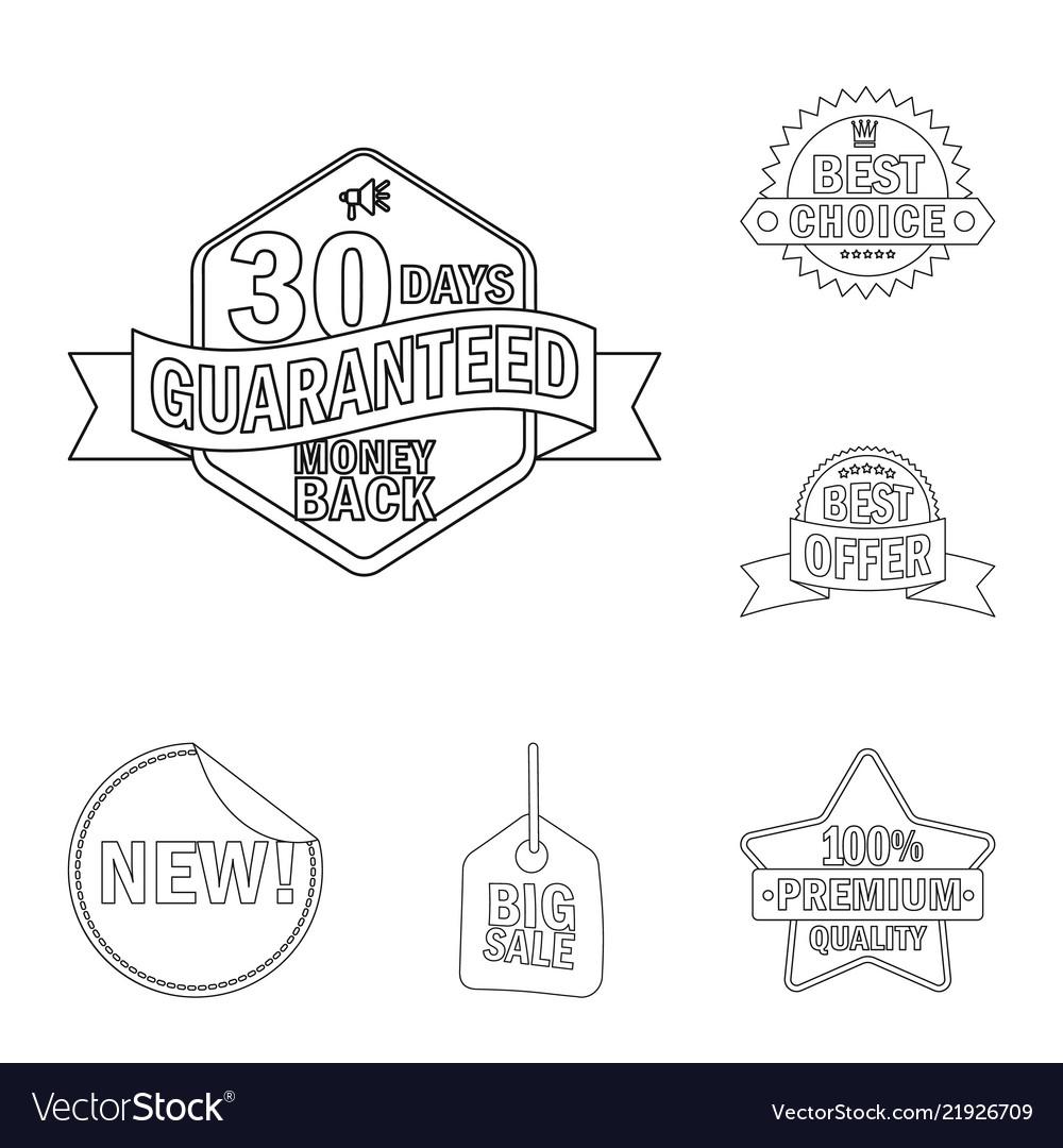 Emblem and badge symbol