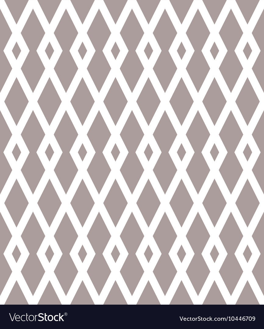 Seamless pattern with black rhombuses on white