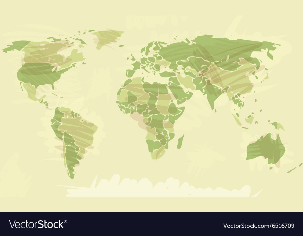 World map grunge style royalty free vector image world map grunge style vector image gumiabroncs Images